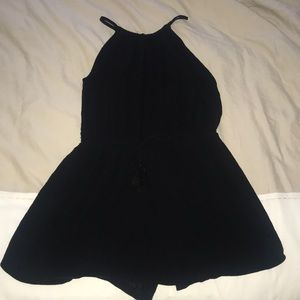 Black Stretchy Romper - Very Comfortable!